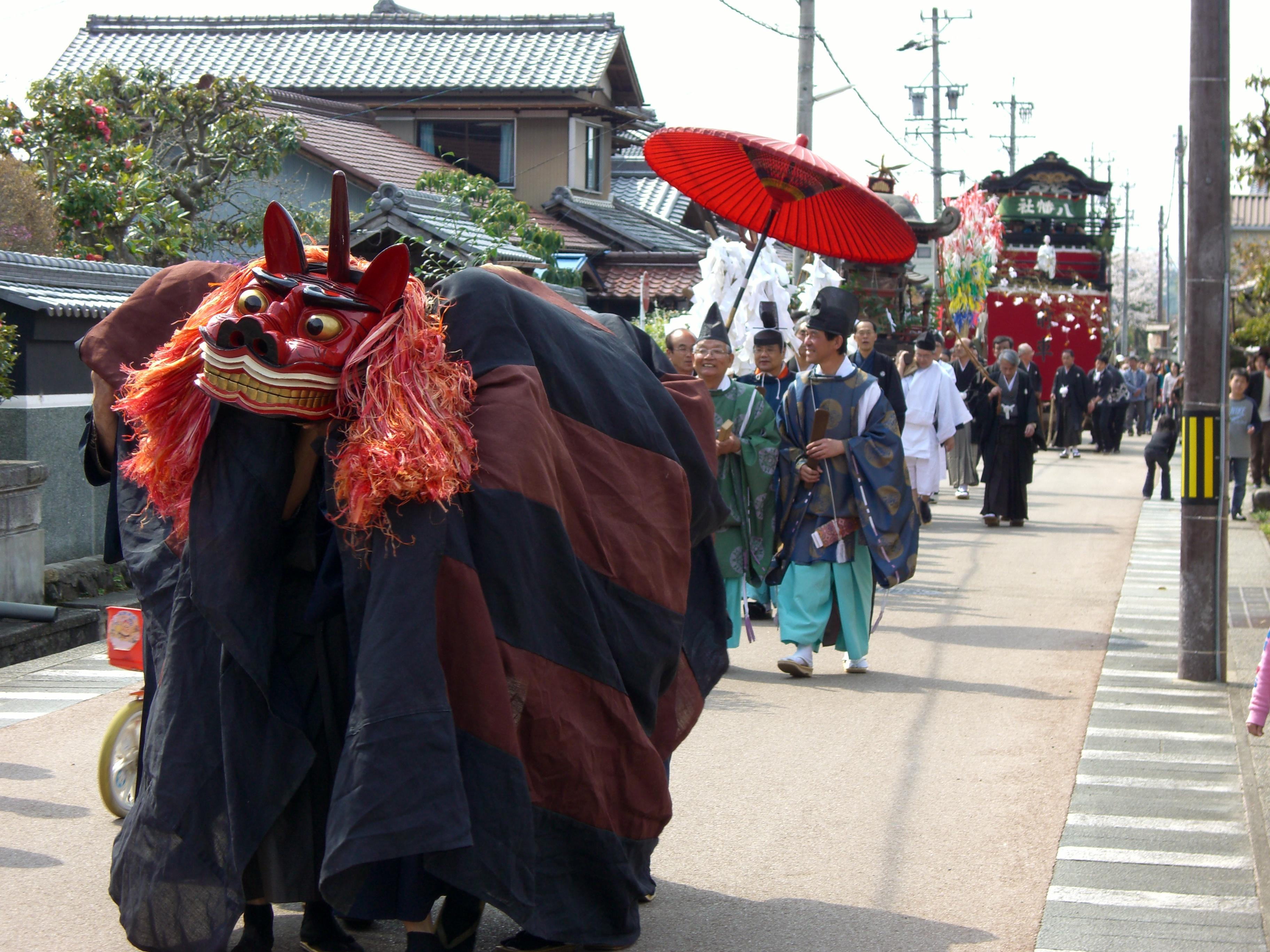 久々利八幡神社大祭
