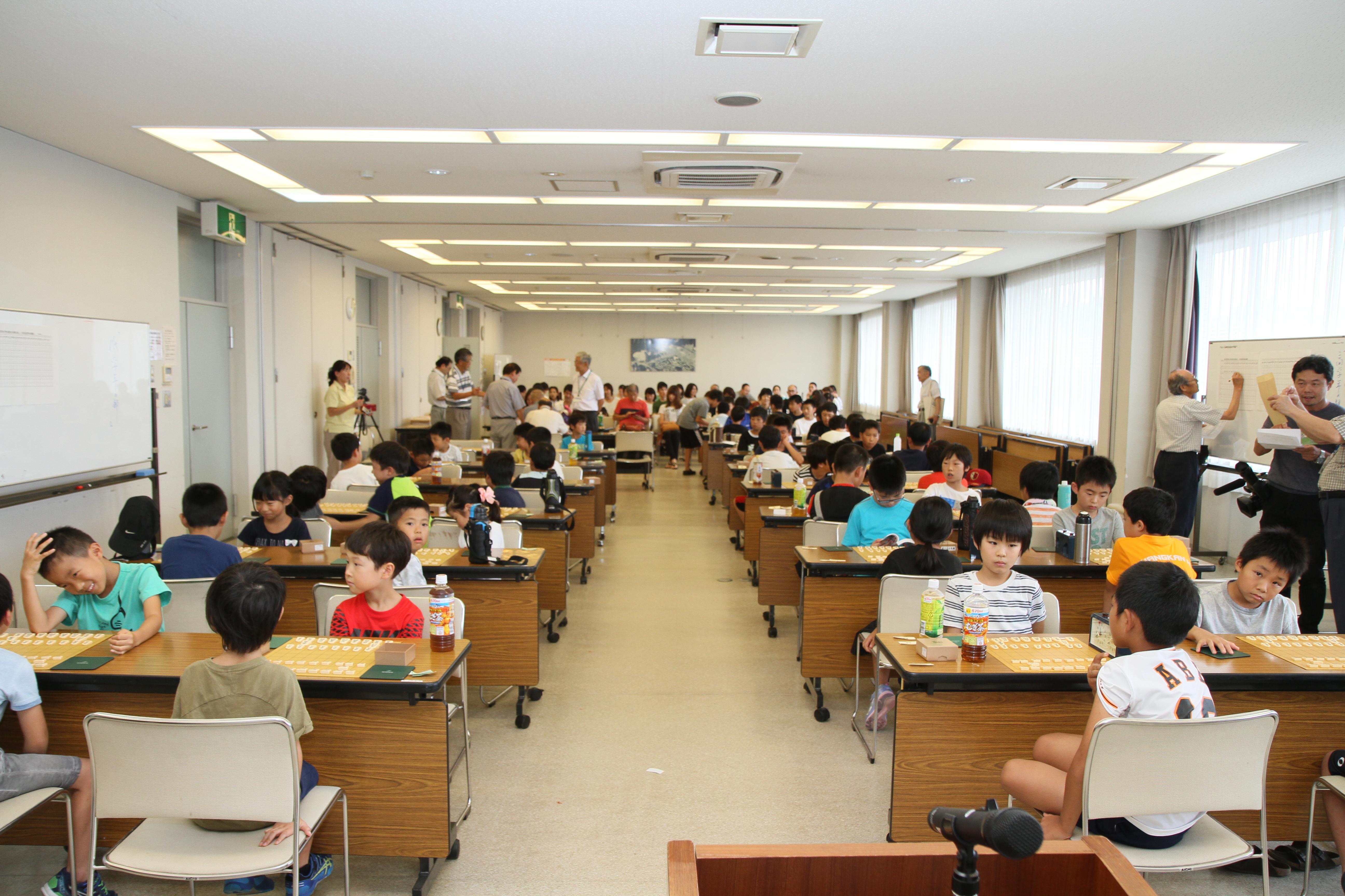 第11回 可児市小学生夏休み将棋大会